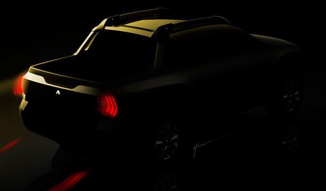 Renault pick-up trasero