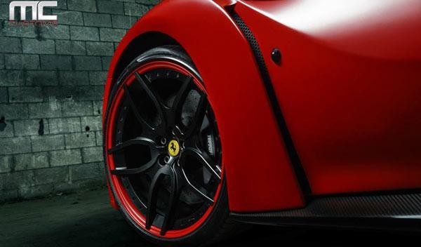 Ferrari F12 N-Largo novitec llanta