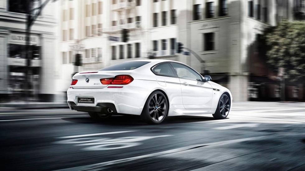 BMW 640i M Performance Edition dinamica