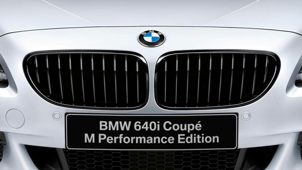 BMW 640i M Performance Edition parrilla