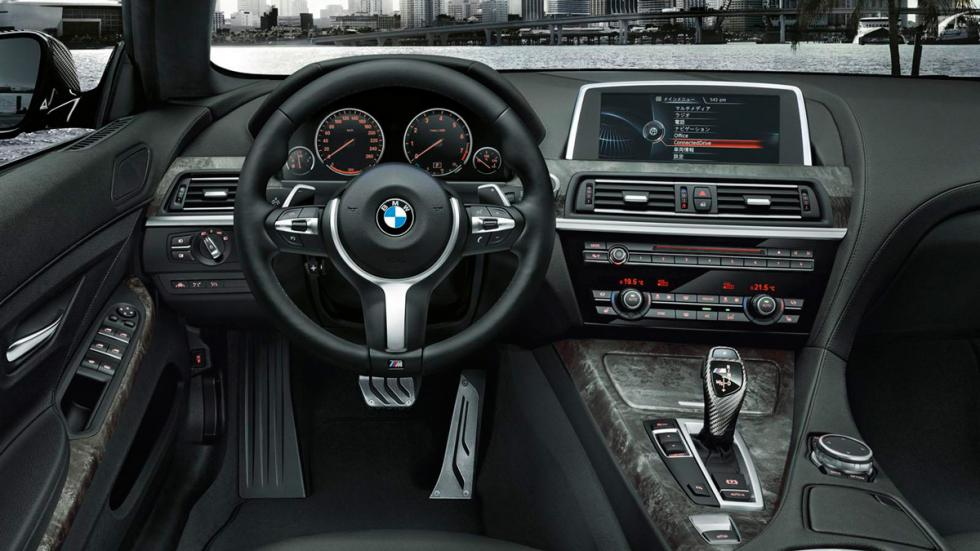 BMW 640i M Performance Edition interior