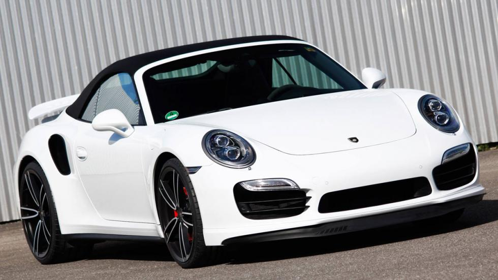 Porsche 911 Turbo Gemballa tres cuartos delantero