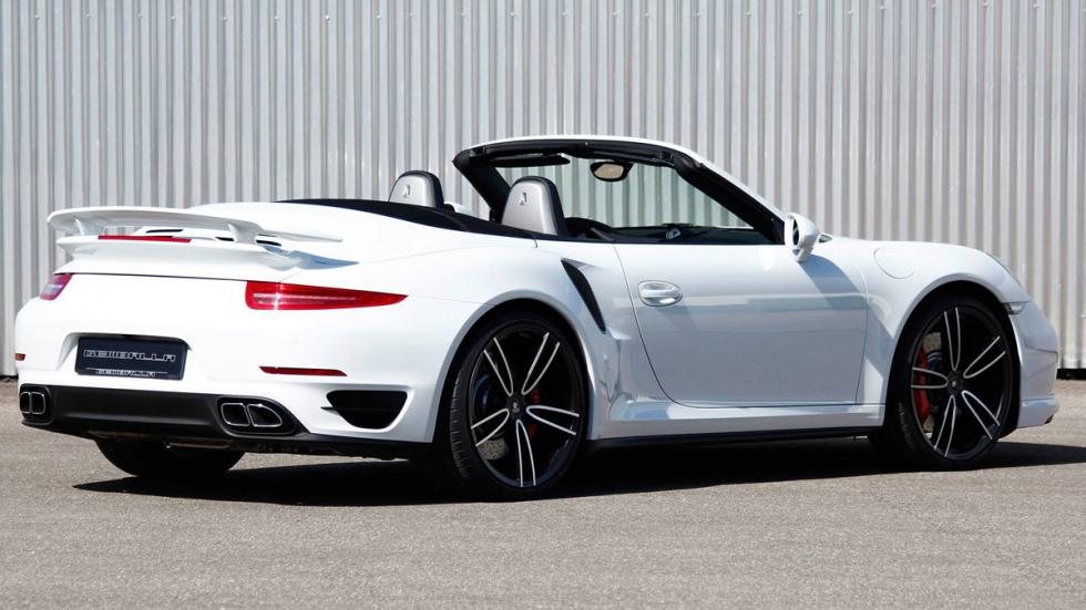 Porsche 911 Turbo Gemballa tres cuartos trasero