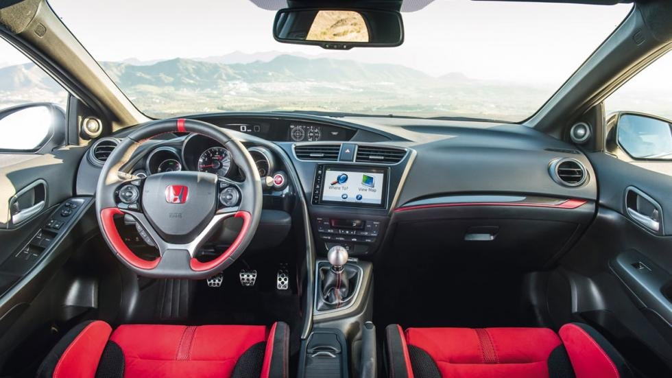 Honda Civic Type R 2015 salpicadero