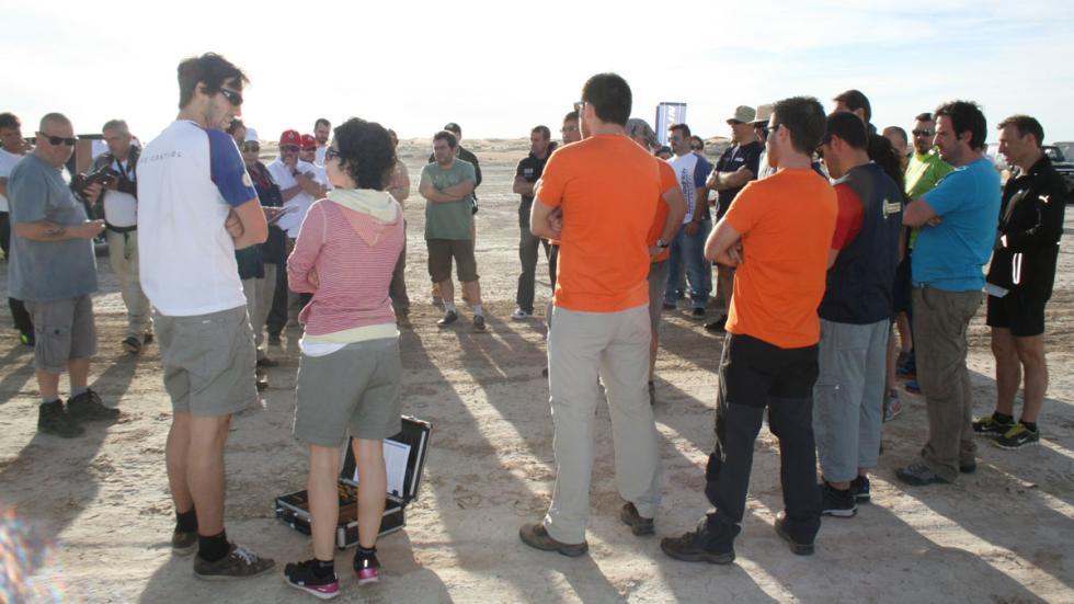 Explorers Aventura 2015 reunión primer día