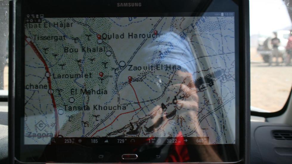 Explorers Aventura 2015 cartografía