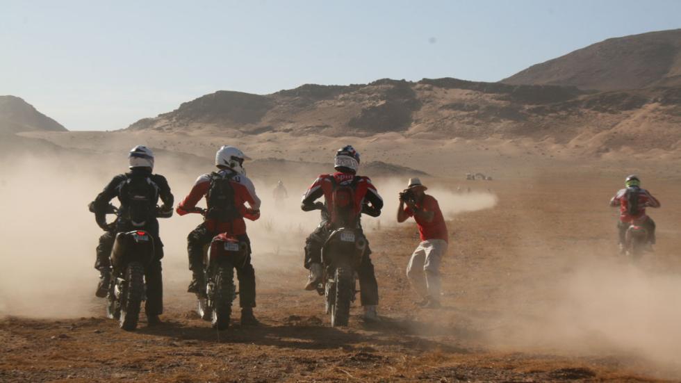 Explorers Aventura 2015 salida motos
