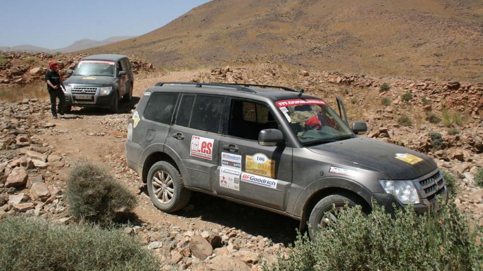 Explorers Aventura 2015 antes del vadeo