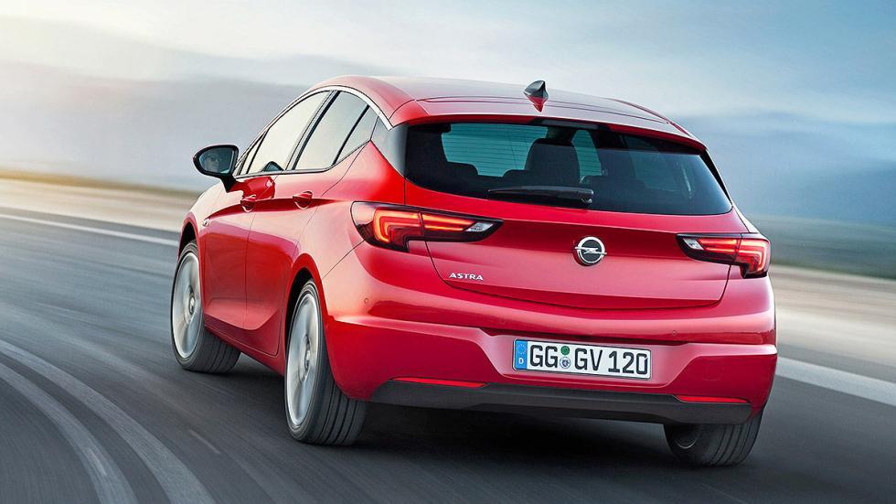 Opel Astra 2015 zaga