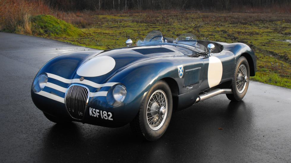 jaguar c-type delantera