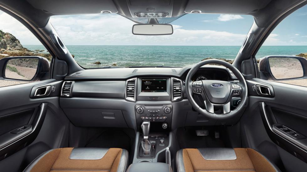 Ford Ranger Wildtrak 2015 interior