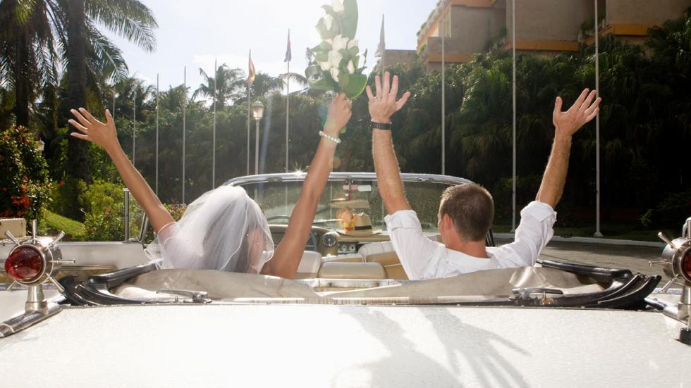 coche para bodas: cadillac descapotable