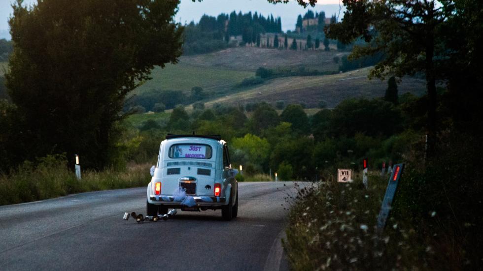 coche para bodas 600 blanco