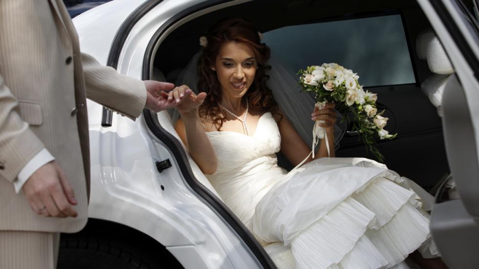 coche para bodas salida novia