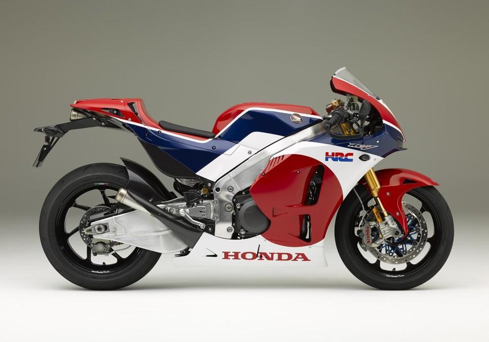 Honda RC213V-S. Perfil.