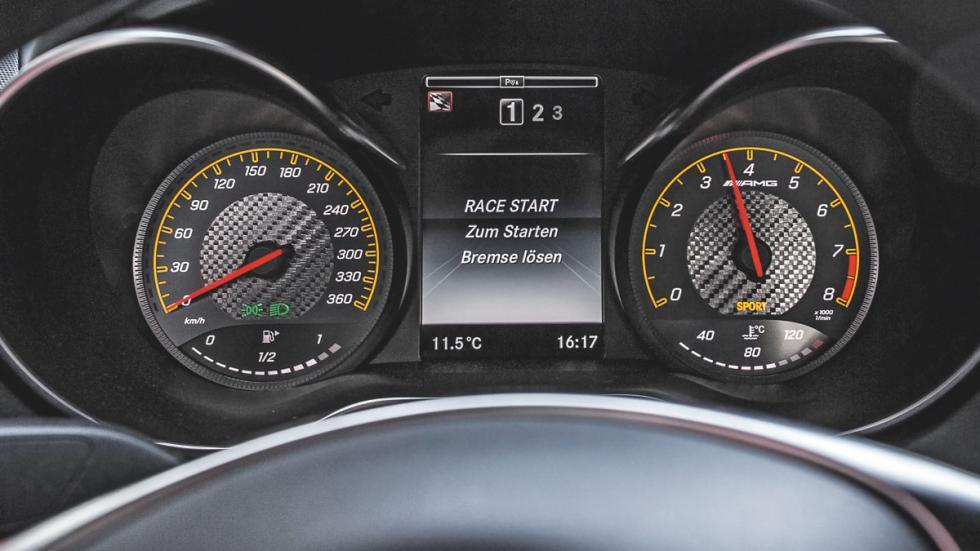 Mercedes AMG-GT relojes