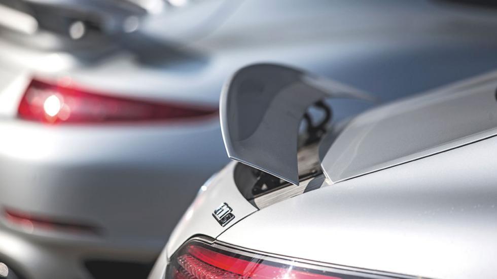 Mercedes AMG-GT alerón