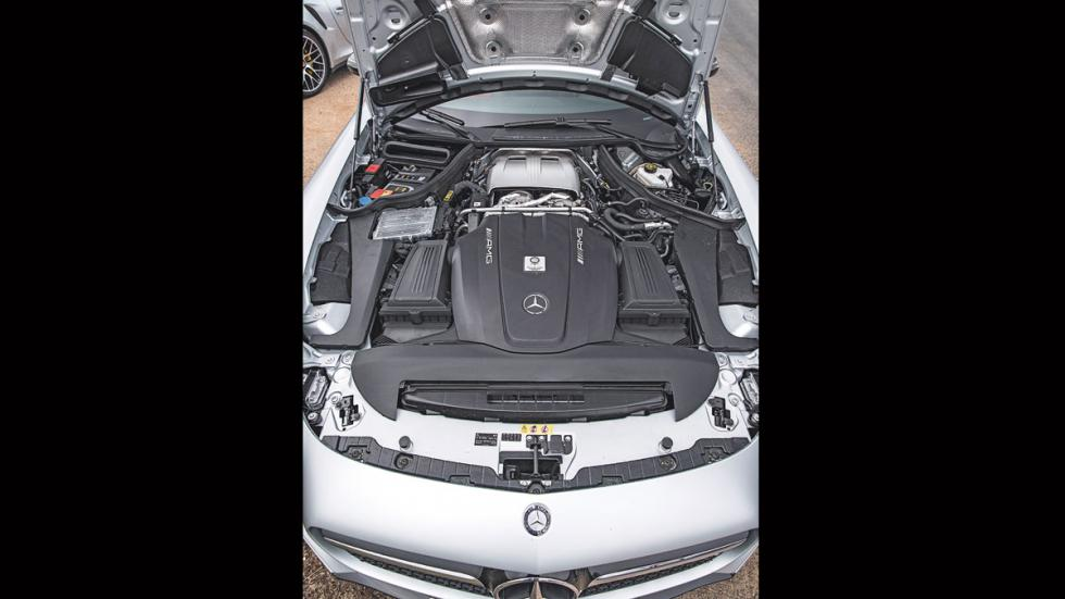 Mercedes AMG-GT motor