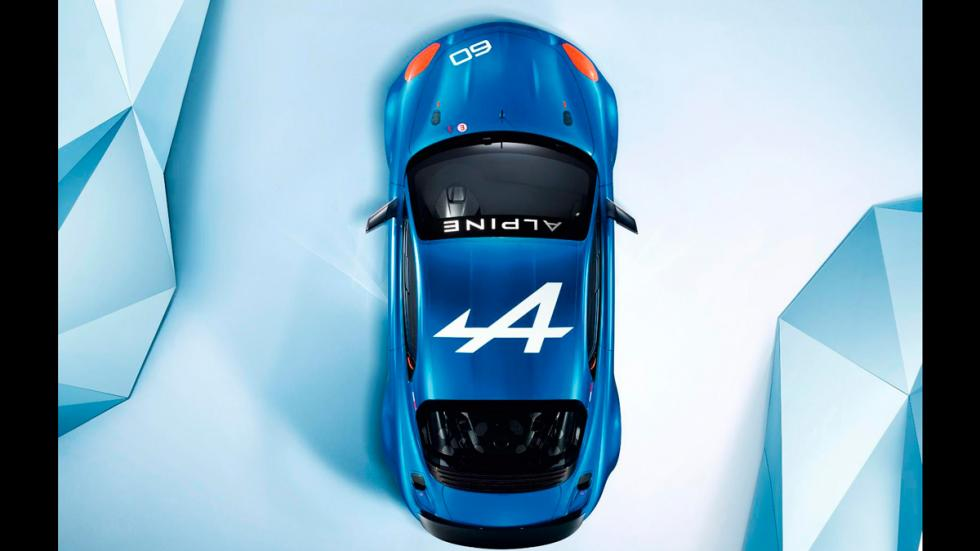 Alpine Celebration Concept Le Mans techo
