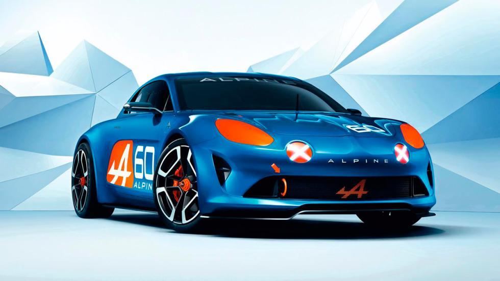 Alpine Celebration Concept Le Mans delantera
