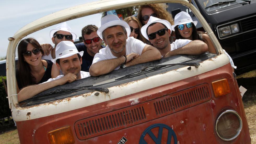 concentración furgonetas volkswagen 2015 frontal t2