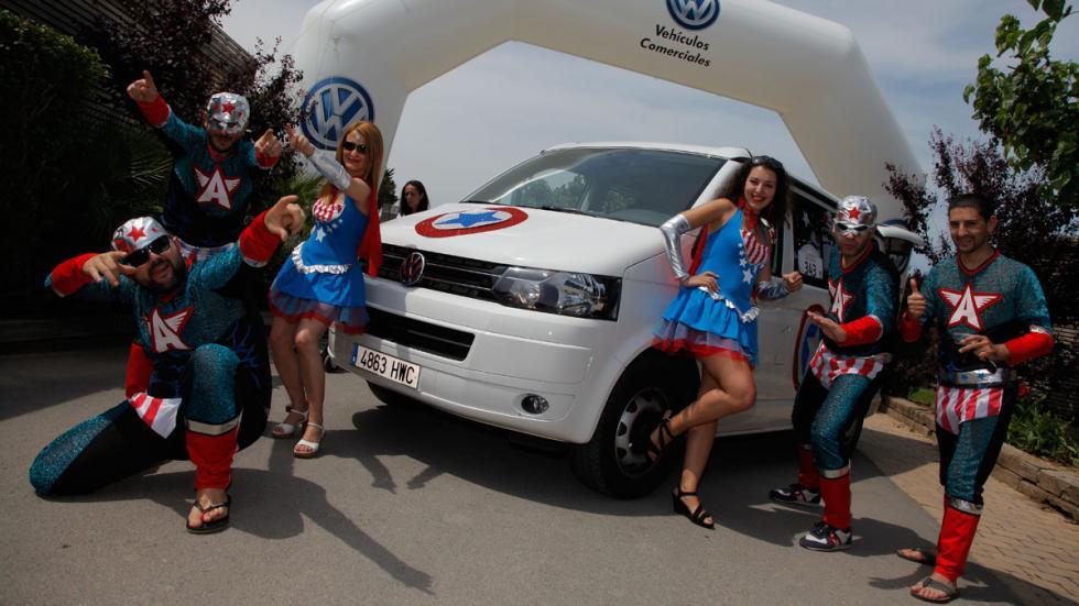 concentración furgonetas volkswagen 2015 superhéroes