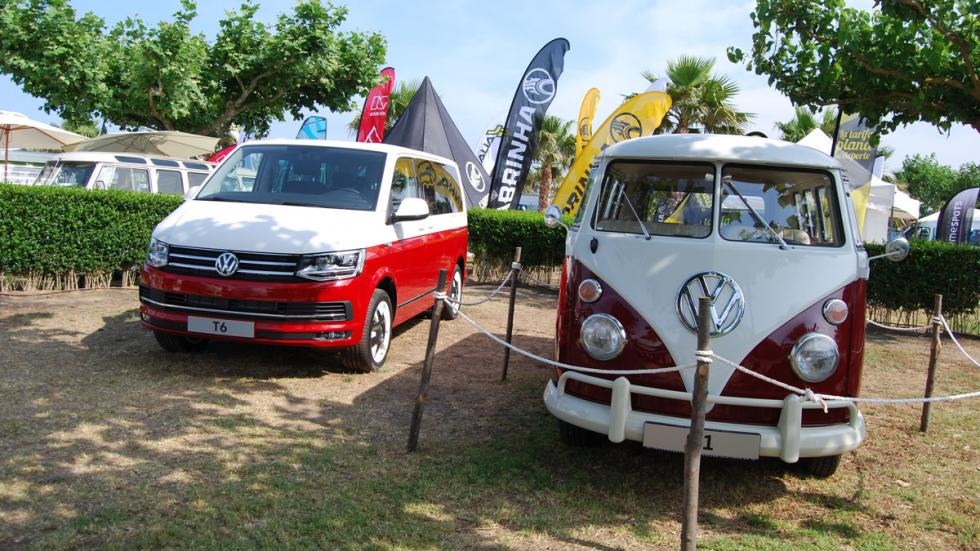 concentración furgonetas volkswagen 2015 T6 y T1