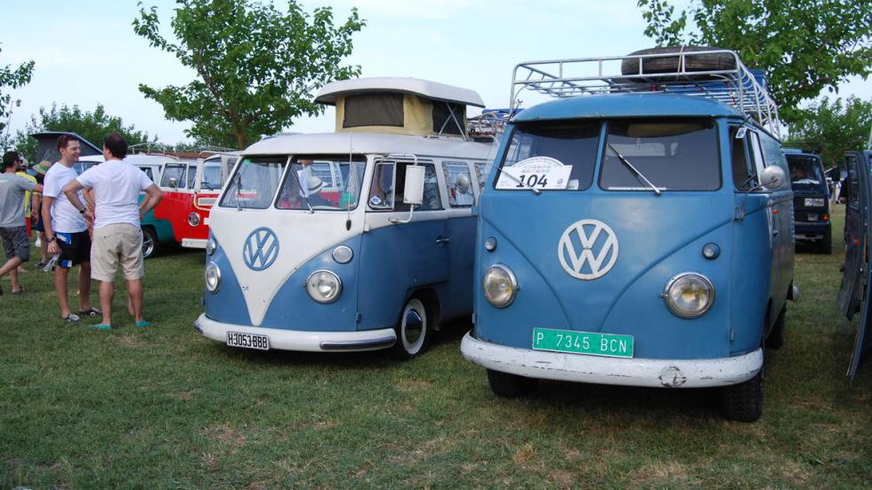 concentración furgonetas volkswagen 2015 T1