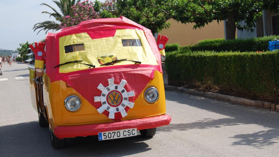concentración furgonetas volkswagen 2015 t2 disfrazada