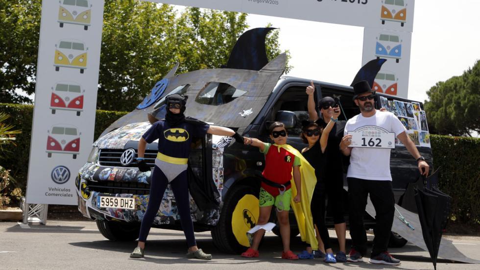 concentración furgonetas volkswagen 2015 familia disfrazada