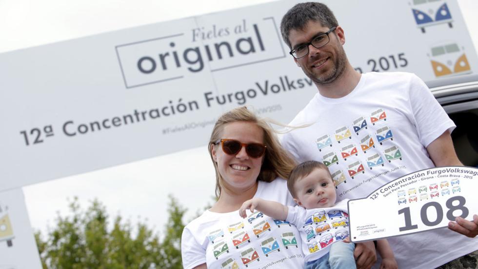 concentración furgonetas volkswagen 2015 familia bebé