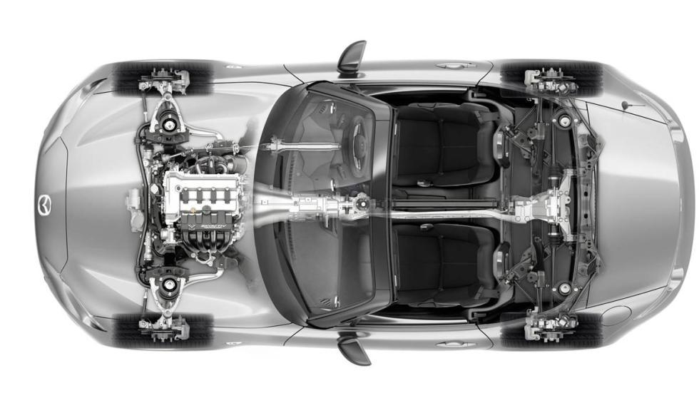 cutaway Mazda MX-5 2015