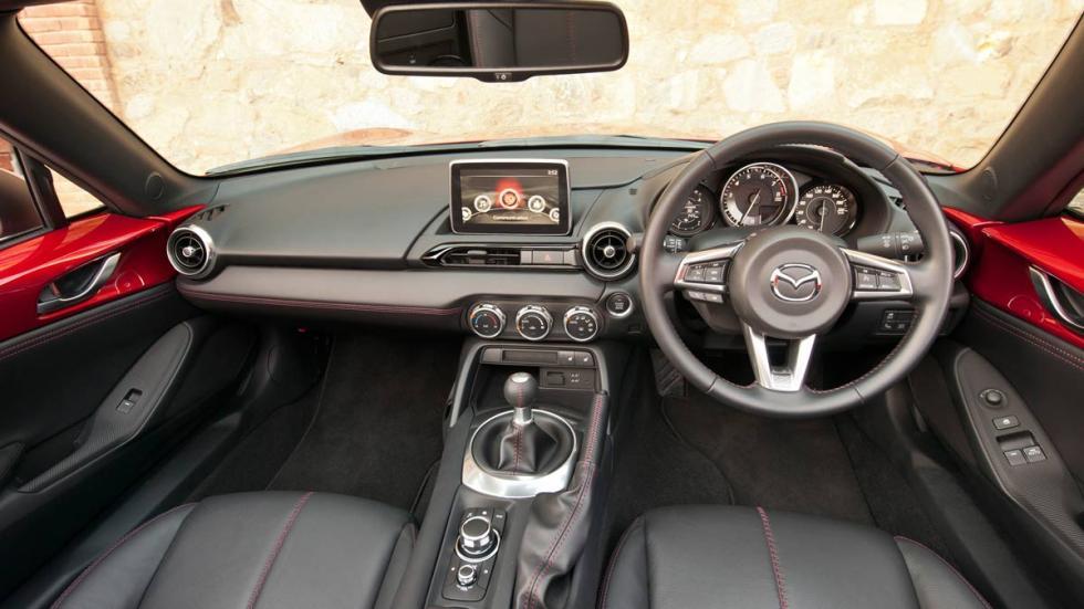 Interior del  Mazda MX-5 2015