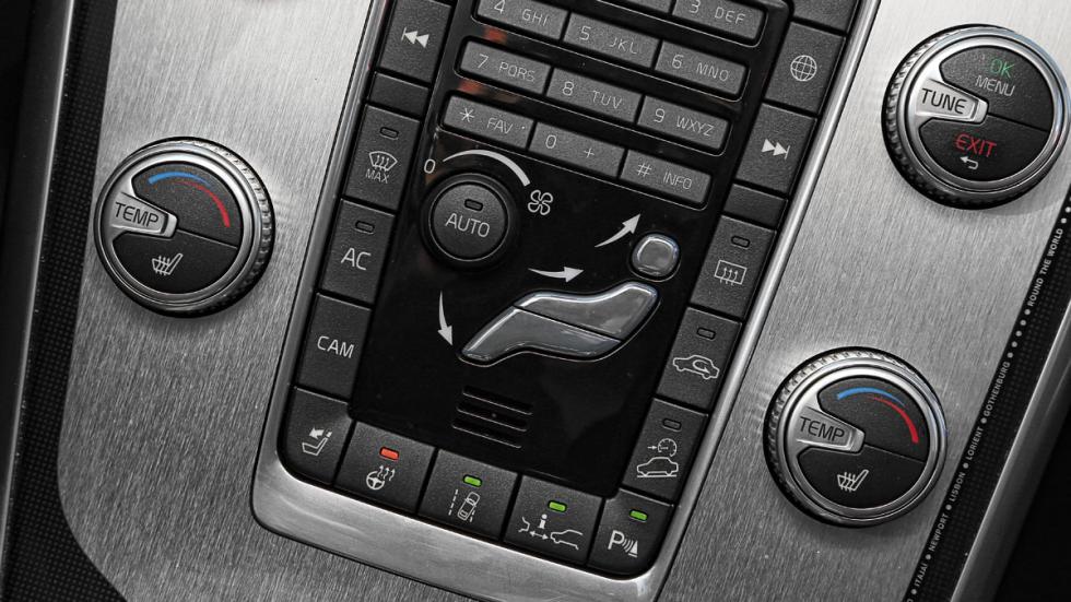 Volvo XC60 Ocean Race consola central
