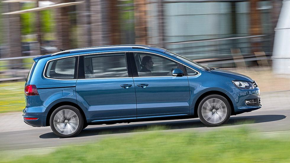 Volkswagen Sharan facelift 2015 barrido