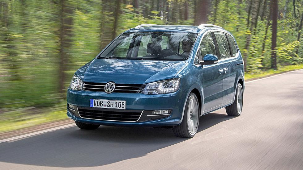 Volkswagen Sharan facelift 2015 morro