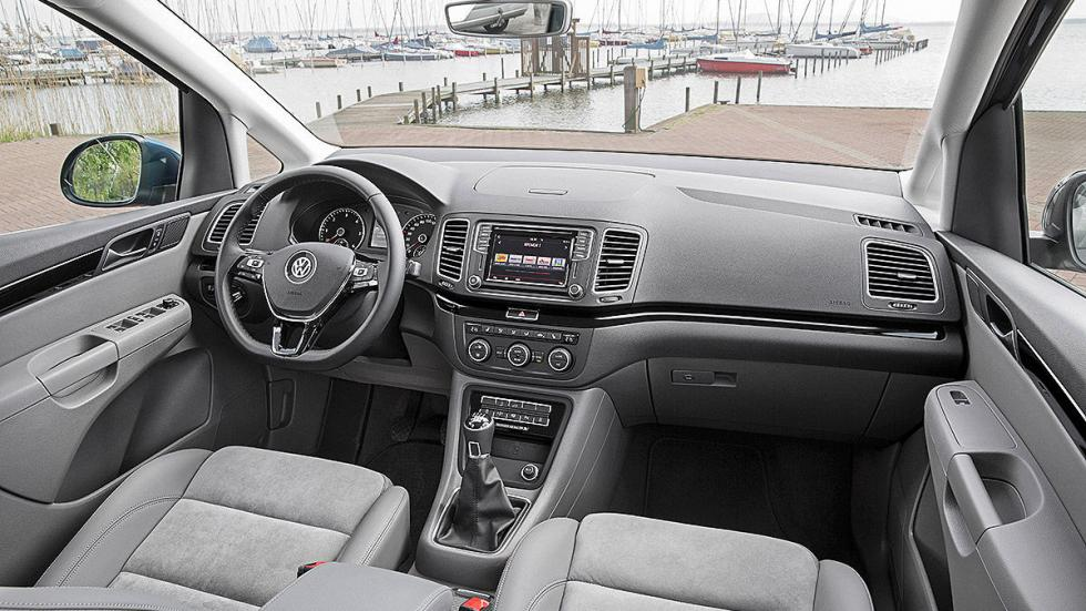 Volkswagen Sharan facelift 2015 interior
