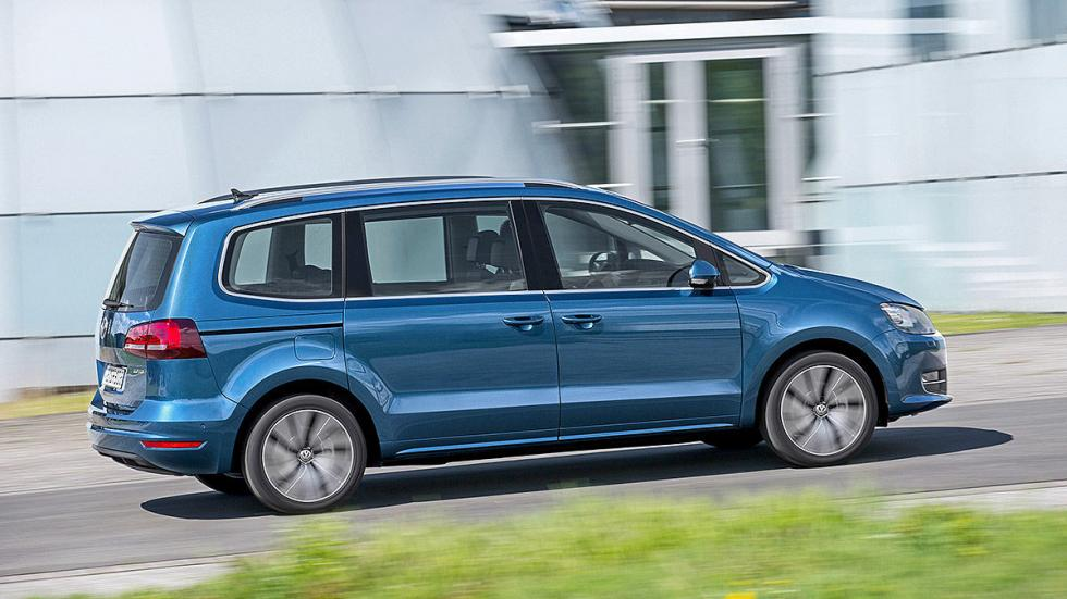 Volkswagen Sharan facelift 2015 barrido ciudad
