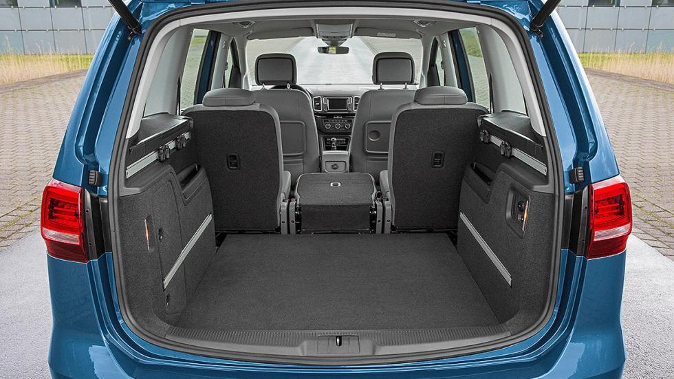 Volkswagen Sharan facelift 2015 maletero