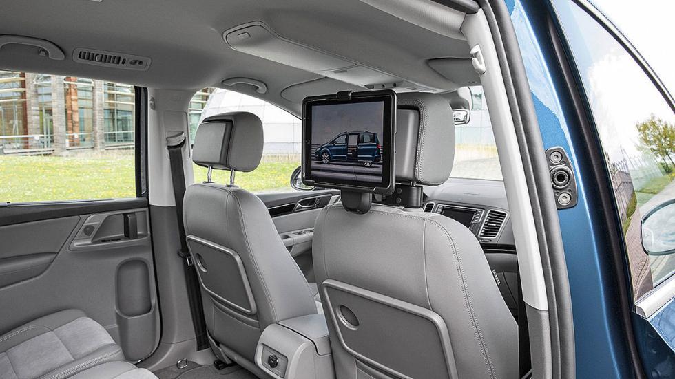 Volkswagen Sharan facelift 2015 pantalla detrás