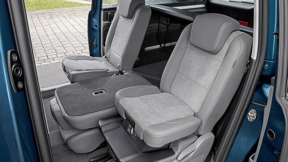 Volkswagen Sharan facelift 2015 asiento abatido