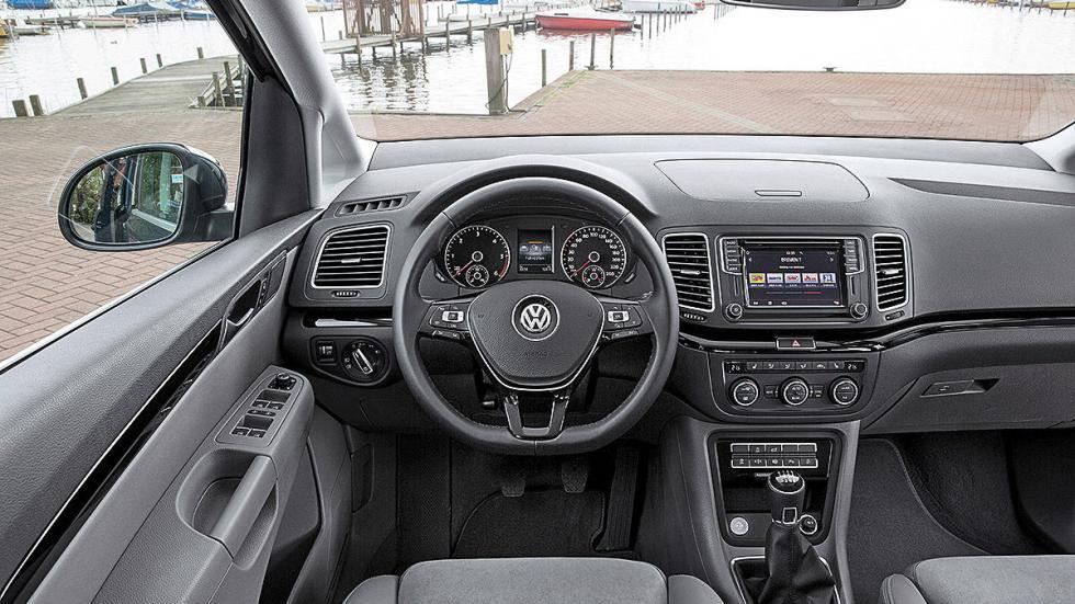 Volkswagen Sharan facelift 2015 volante