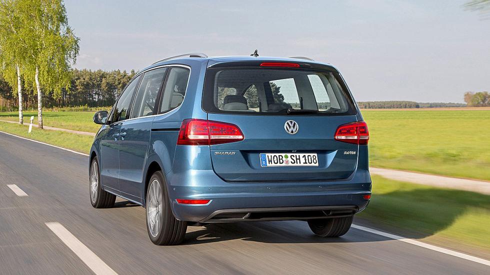 Volkswagen Sharan facelift 2015 portón