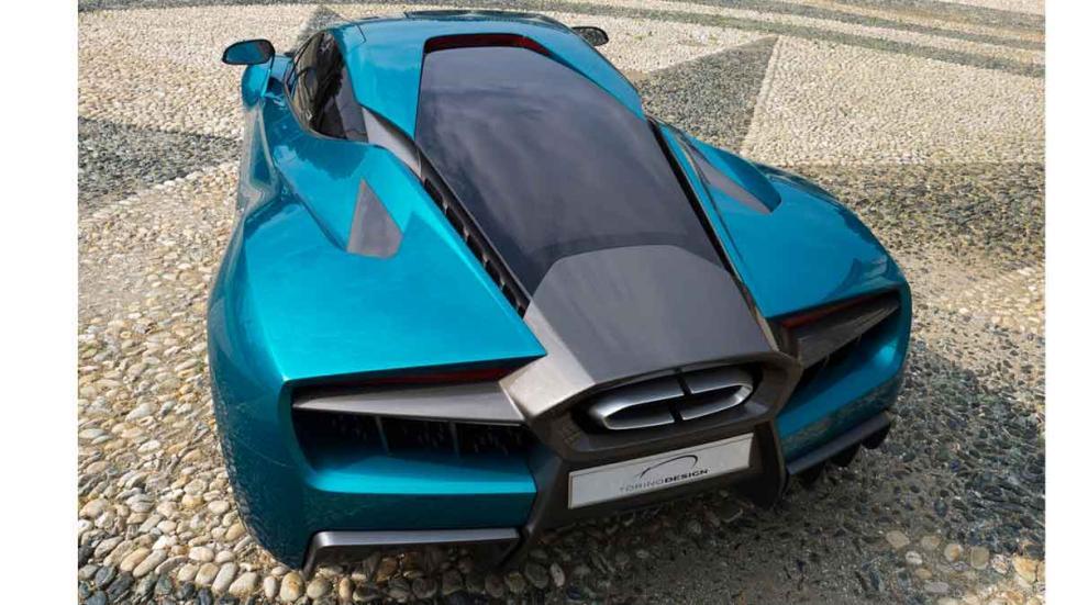 Torino Design ATS Wildtwelve Concept trasera
