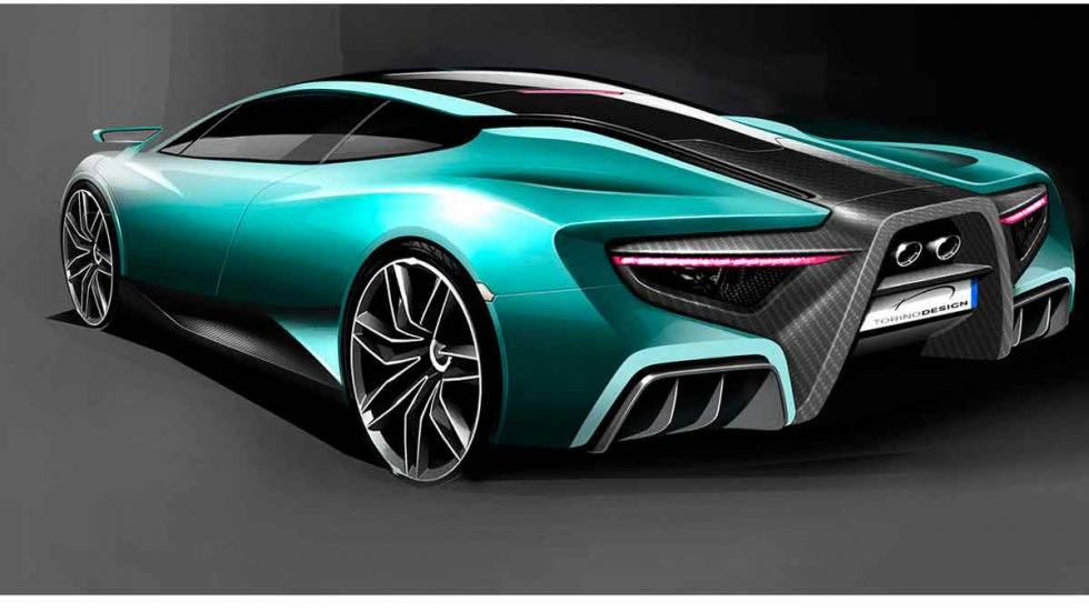 Torino Design ATS Wildtwelve Concept tres cuartos traseros