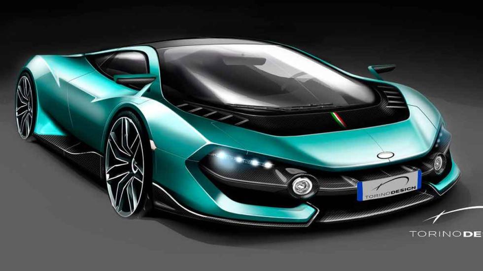 Torino Design ATS Wildtwelve Concept tres cuartos delanteros
