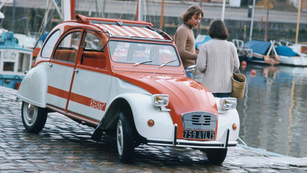 Citroën 2CV delantera
