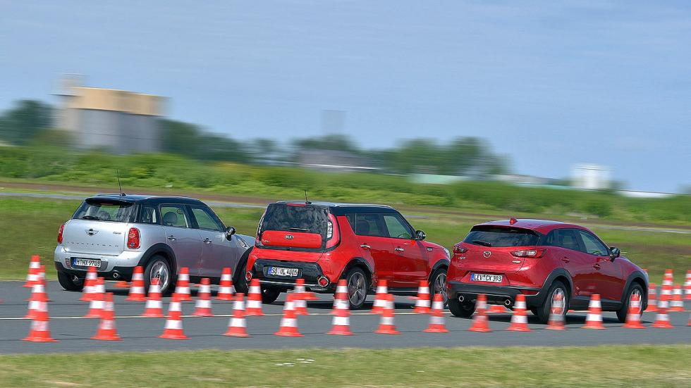 Mazda CX-3/Kia Soul/Mini Countryman