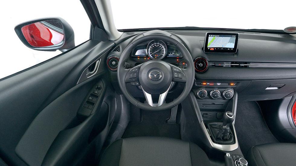 Mazda CX-3 estática interior