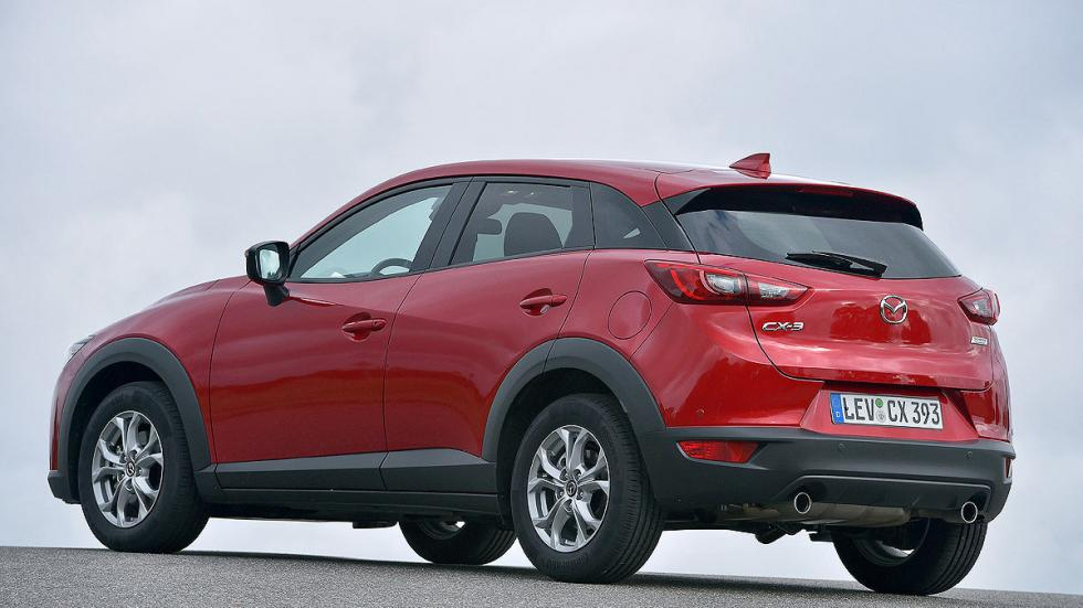 Mazda CX-3 estática zaga